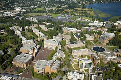 University Of Washington Campus, Seattle Poster