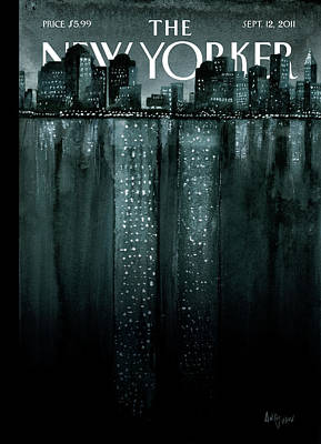 New Yorker September 12th, 2011 Poster