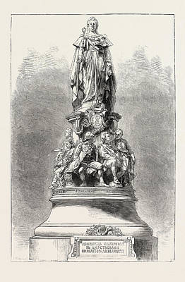 Unveiling The Statue Of Catherine II At St Poster