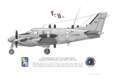 U.s. Army Ru-21a Poster