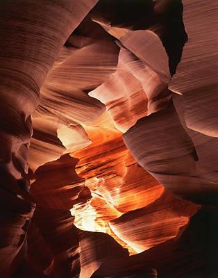 Usa, Arizona, Page, Sunlight Filters Poster by Adam Jones