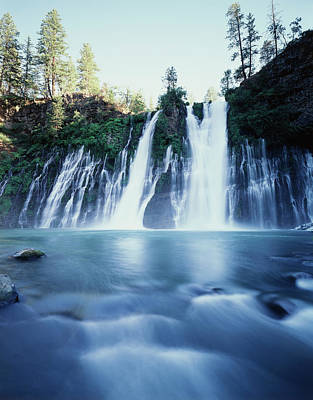 Usa, California, Mcarthur-burney Falls Poster