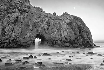 Usa, California, Pfeiffer Beach Poster by John Ford