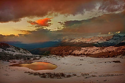 Usa, Colorado, Cottonwood Pass Poster by Jaynes Gallery