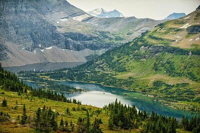 Usa, Montana, Glacier National Park Poster