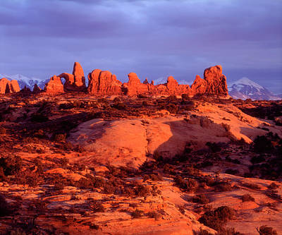 Usa, Utah Arches National Park Arches Poster by Jaynes Gallery