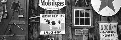 Usa, Vermont, Chester, Signs (large Poster by Walter Bibikow