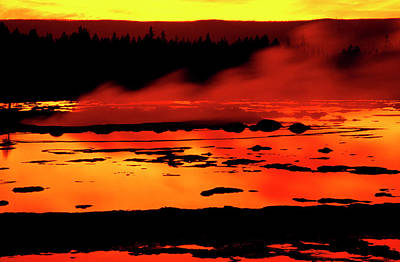 Usa, Wyoming, Yellowstone National Park Poster by Jaynes Gallery