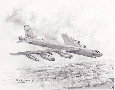 Usaf B-52 Stratofortress  Poster