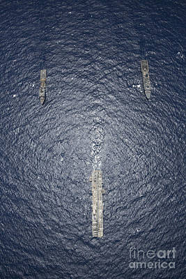 Uss Kearsarge, Uss Carter Hall And Uss Poster