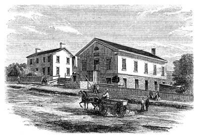 Utah Salt Lake City, 1858 Poster