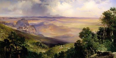 Valley Of Cuernavaca  Poster by Mountain Dreams