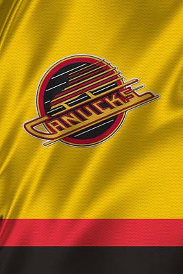 Vancouver Canucks Uniform Poster by Joe Hamilton