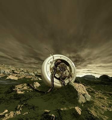 Venera 4 Space Probe Poster