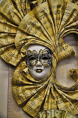 Venetian Carnaval Mask Poster
