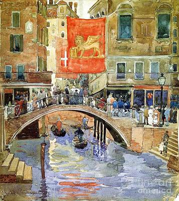 Venice Poster by Pg Reproductions