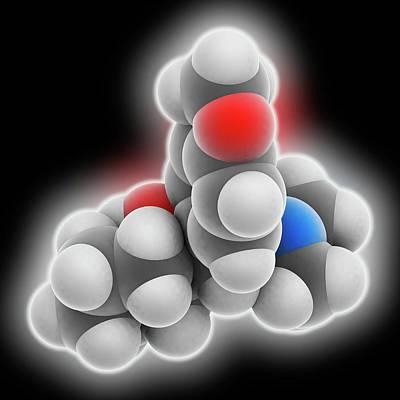 Venlafaxine Drug Molecule Poster