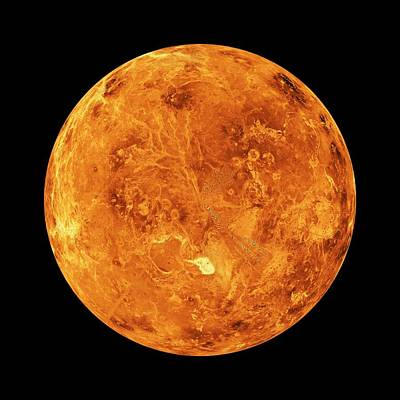 Venus Poster by Nasa/jpl