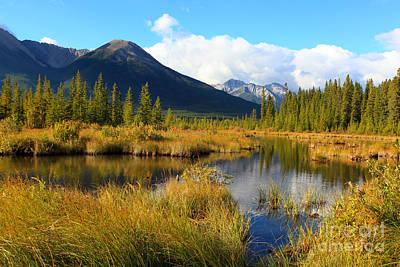 Vermillion Lakes Banff Alberta Poster