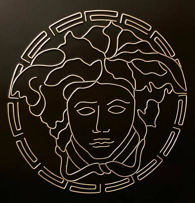 Versace Medusa Head Poster by Peter Virgancz