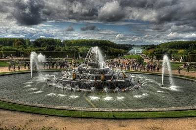 Versailles Fountain Poster