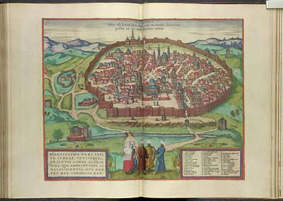 View Of Jerusalem Poster