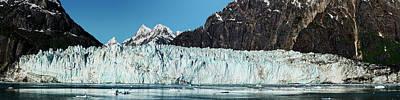 View Of Margerie Glacier In Glacier Bay Poster