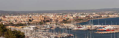 View Over The Old Town Of Palma Poster