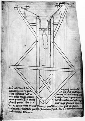 Villard De Honnecourt (c1225-c1250) Poster by Granger