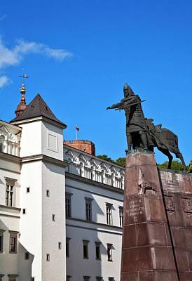Vilnius, Lithuania, Lietuva, Monument Poster by Miva Stock
