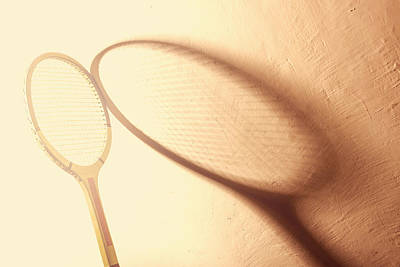 Vintage Tennis Racket Poster by Dutourdumonde Photography