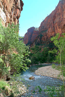 Poster featuring the photograph Virgin River Rapids by Jemmy Archer