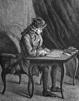Voltaire Poster by Bildagentur-online/tschanz