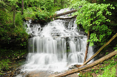 Wagner Falls Poster