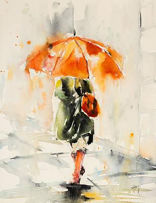 Walk In Rain Poster