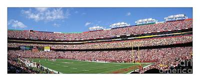 Washington Redskins Fedex Field Poster