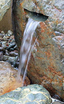 Water And Rocks II Poster