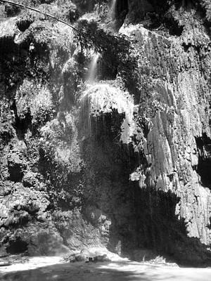 Water Falls Poster by Duane Blubaugh
