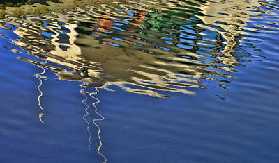 Water Reflections 4 Poster by Allen Beatty