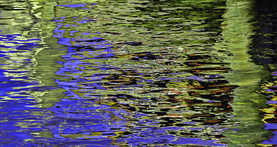 Water Reflections 5 Poster by Allen Beatty