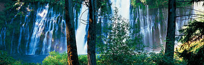 Waterfall In A Forest, Mcarthur-burney Poster