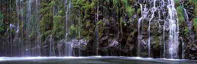 Waterfall, Mossbrae Falls, Sacramento Poster by Panoramic Images