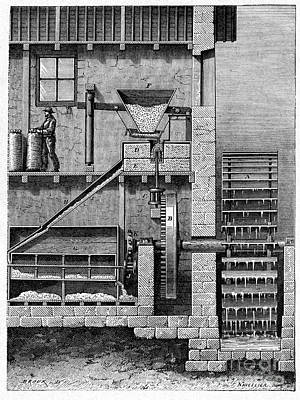 Watermill, 19th Century Poster