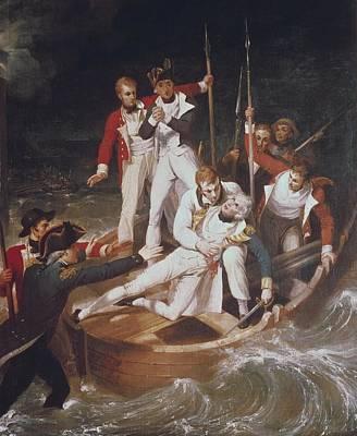 Westall, Richard 1765-1836. Nelson Poster by Everett