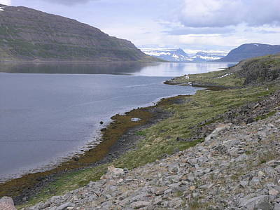 Poster featuring the photograph Westfjords by Christian Zesewitz