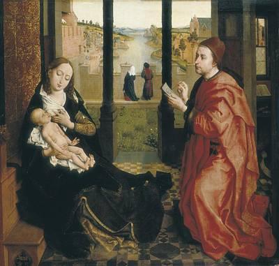Weyden, Rogier Van Der  1400-1464. St Poster