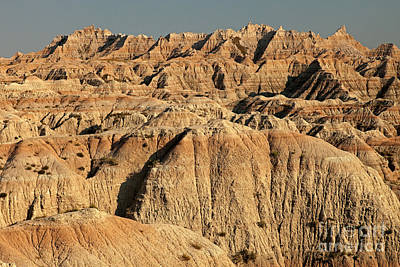White River Valley Overlook Badlands National Park Poster