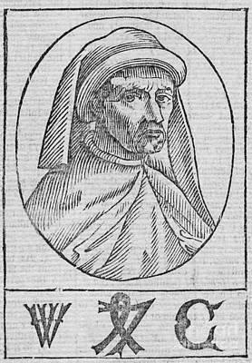 William Caxton, English Printer Poster