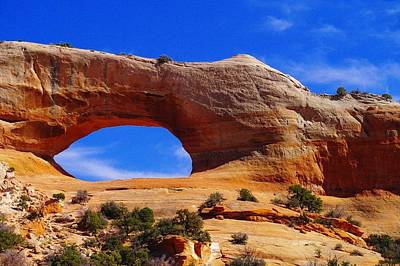 Wilsons Arch Poster by Jeff Swan