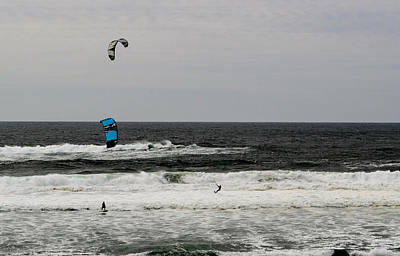 Wind Surfin' Poster by Indecisivelykat Photography